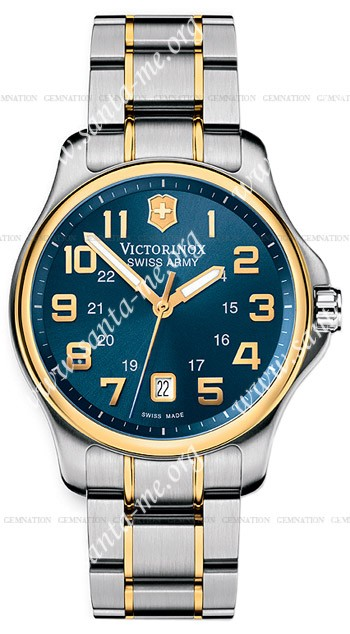 Swiss Army Officers Gent Mens Wristwatch 241363