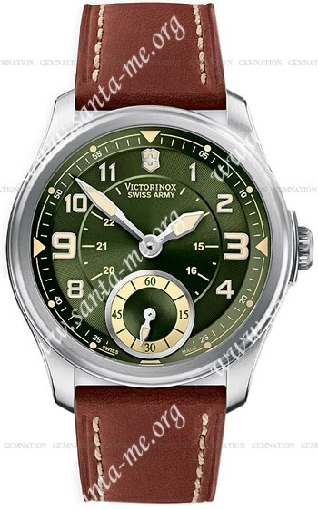 Swiss Army Infantry Vintage Small Second Mecha Mens Wristwatch 241376