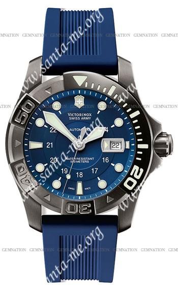 Swiss Army Dive Master 500 Black Ice Mecha Mens Wristwatch 241425