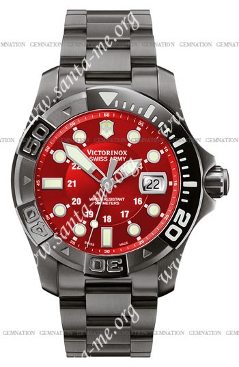 Swiss Army Dive Master 500 Black Ice Mens Wristwatch 241430
