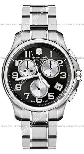 Swiss Army Officers Chrono Mens Wristwatch 241455