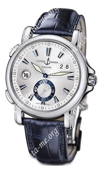 Ulysse Nardin Dual Time 42 mm Mens Wristwatch 243-55-91