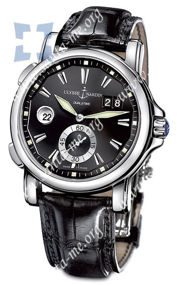 Ulysse Nardin Dual Time 42 mm Mens Wristwatch 243-55-92