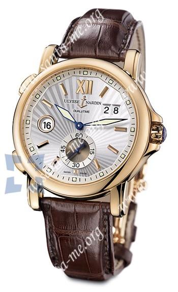 Ulysse Nardin Dual Time 42 mm Mens Wristwatch 246-55-31