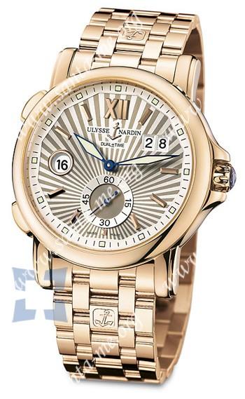 Ulysse Nardin Dual Time 42 mm Mens Wristwatch 246-55-8-30