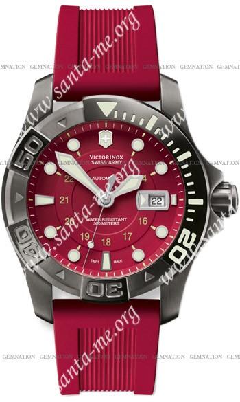 Swiss Army Dive Master 500 Black Ice Mecha Mens Wristwatch 251353