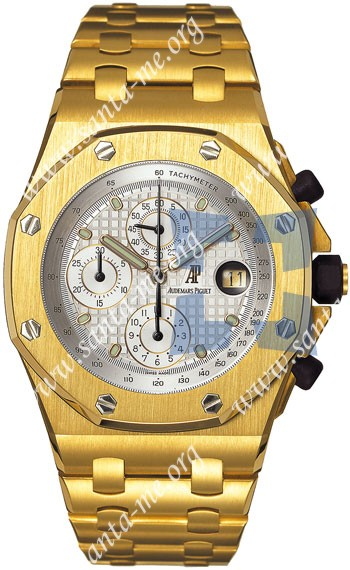 Audemars Piguet Royal Oak Offshore Mens Wristwatch 25721BA.OO.1000BA.03