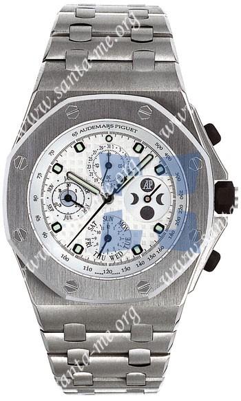 Audemars Piguet Royal Oak Offshore Chronograph Perpetual Calendar Mens Wristwatch 25854TI.OO.1150TI.01