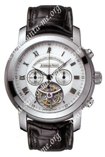 Audemars Piguet Jules Audemars Tourbillon Chronograph Mens Wristwatch 26010BC.OO.D002CR.01