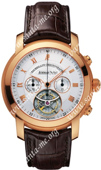 Audemars Piguet Jules Audemars Tourbillon Chronograph Mens Wristwatch 26010OR.OO.D088CR.01
