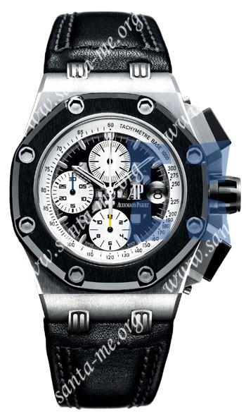 Audemars Piguet Royal Oak Offshore Rubens Barrichello Chronograph Mens Wristwatch 26078IO.OO.D001VS.01