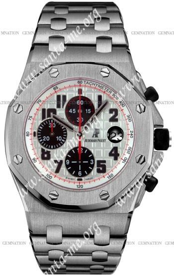 Audemars Piguet Royal Oak Offshore Mens Wristwatch 26170ST.OO.1000ST.01