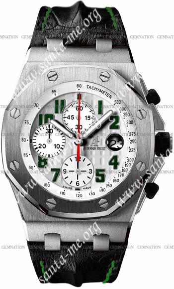 Audemars Piguet Royal Oak Offshore Pride of Mexico Mens Wristwatch 26297IS.OO.D101CR.01