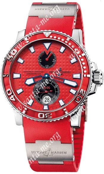 Ulysse Nardin Maxi Marine Diver Mens Wristwatch 263-33-3.96