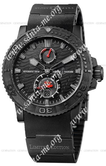 Ulysse Nardin Black Ocean Mens Wristwatch 263-38LE-3