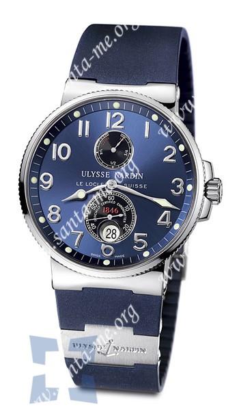 Ulysse Nardin Maxi Marine Chronometer Mens Wristwatch 263-66-3-623