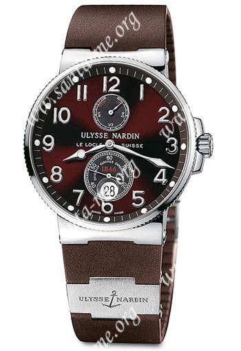 Ulysse Nardin Maxi Marine Chronometer Mens Wristwatch 263-66-3-625