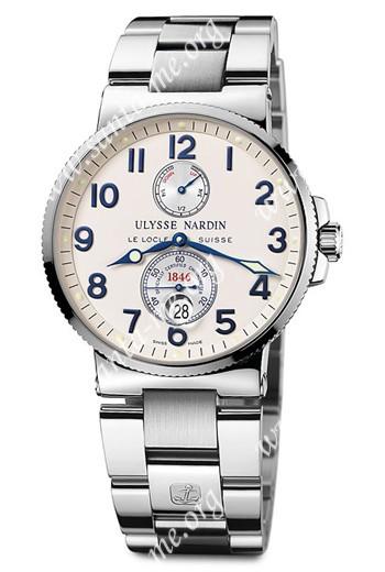 Ulysse Nardin Maxi Marine Chronometer Mens Wristwatch 263-66-7