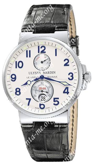 Ulysse Nardin Maxi Marine Chronometer Mens Wristwatch 263-66