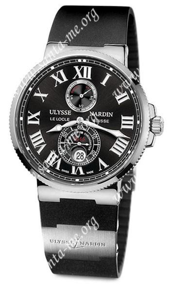 Ulysse Nardin Maxi Marine Chronometer 43mm Mens Wristwatch 263-67-3-42