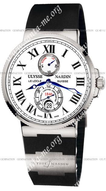 Ulysse Nardin Maxi Marine Chronometer 43mm Mens Wristwatch 263-67-3.40