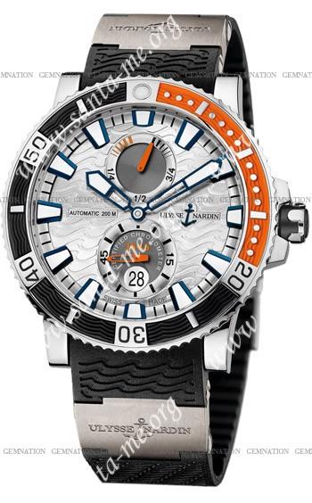 Ulysse Nardin Maxi Marine Diver Titanium Mens Wristwatch 263-90-3-91