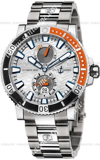 Ulysse Nardin Maxi Marine Diver Titanium Mens Wristwatch 263-90-7M.91
