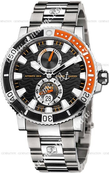 Ulysse Nardin Maxi Marine Diver Titanium Mens Wristwatch 263-90-7M.92
