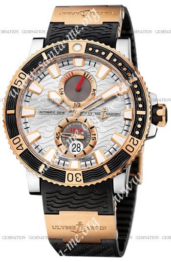 Ulysse Nardin Maxi Marine Diver Titanium Mens Wristwatch 265-90-3-91