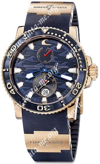 Ulysse Nardin Blue Surf Limited Edition Mens Wristwatch 266-36LE-3