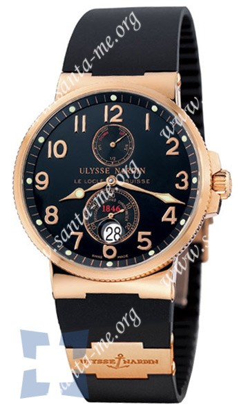Ulysse Nardin Maxi Marine Chronometer Mens Wristwatch 266-66-3.62