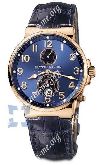 Ulysse Nardin Maxi Marine Chronometer Mens Wristwatch 266-66-623