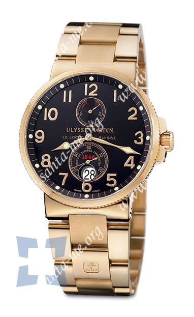 Ulysse Nardin Maxi Marine Chronometer Mens Wristwatch 266-66-8-62