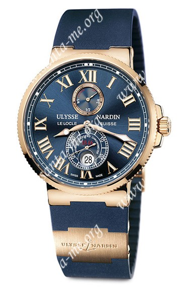 Ulysse Nardin Maxi Marine Chronometer 43mm Mens Wristwatch 266-67-3-43