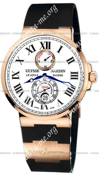 Ulysse Nardin Maxi Marine Chronometer 43mm Mens Wristwatch 266-67-3.40