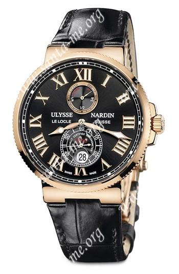 Ulysse Nardin Maxi Marine Chronometer 43mm Mens Wristwatch 266-67-42