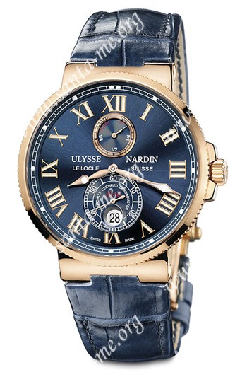 Ulysse Nardin Maxi Marine Chronometer 43mm Mens Wristwatch 266-67-43
