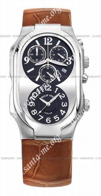 Philip Stein Teslar Chronograph Mens Wristwatch 3-G-CRB-ABR