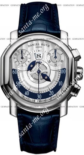 Daniel Roth Papillon Chronographe Mens Wristwatch 319.Z.60.394.CM.BD