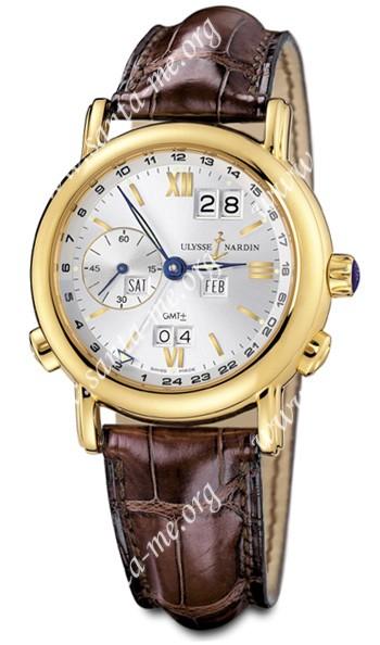 Ulysse Nardin GMT +- Perpetual Mens Wristwatch 321-22-31