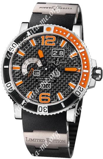 Ulysse Nardin Marine Aqua Perpetual Mens Wristwatch 333-90-3