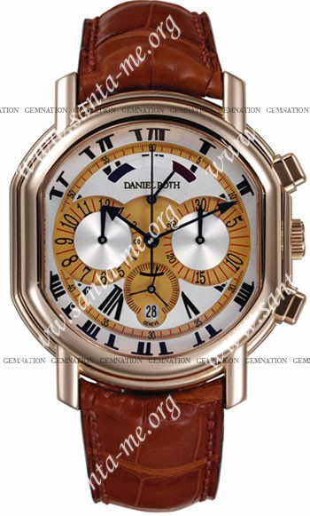 Daniel Roth Ellipsocurvex Chronomax Mens Wristwatch 347.Y.40.762.CC.BD