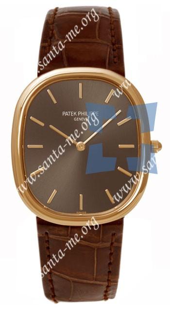 Patek Philippe Golden Elipse Mens Wristwatch 3738-100R