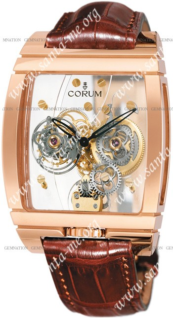 Corum Corum Tourbillon Panoramique Mens Wristwatch 382.850.55-0F02-0000