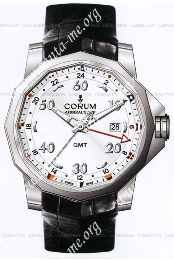 Corum Admirals Cup GMT 44 Mens Wristwatch 383.330.20-0F81.AA12
