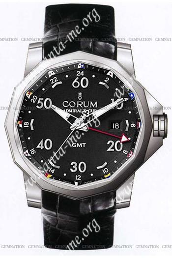 Corum Admirals Cup GMT 44 Mens Wristwatch 383.330.20-0F81.AN12