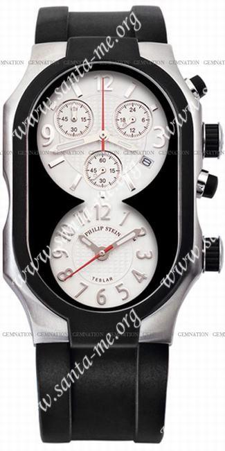 Philip Stein Teslar Chronograph Mens Wristwatch 5-B-CRW-NRB