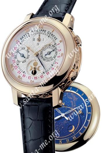 Patek Philippe Sky Moon Tourbillon Mens Wristwatch 5002J