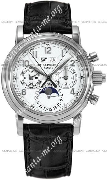 Patek Philippe Split Seconds Chronograph Mens Wristwatch 5004G