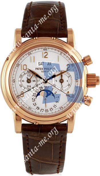 Patek Philippe Split Seconds Chronograph Mens Wristwatch 5004R